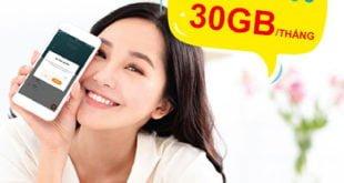 Đăng ký gói Umax300 Viettel ưu đãi 30GB không giới hạn giá 300.000đ