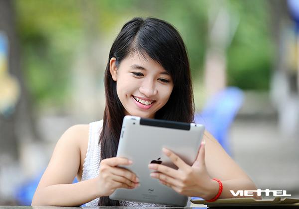 Truy cập internet thả ga giá rẻ chỉ 30.000đ khi đăng ký D30 Viettel