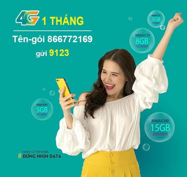 Cách đăng ký 4G Viettel 1 tháng bằng tin nhắn