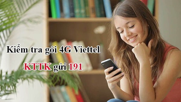 2 Cách kiểm tra gói cước 4G Viettel đang sử dụng CỰC nhanh