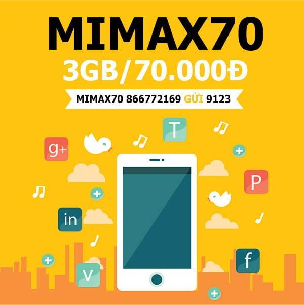 Hướng dẫn cách cài đặt Mimax Viettel có ngay 3GB cho điện thoại