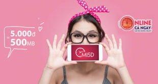 Gói MI5D Viettel giá chỉ 5.000đ mua thêm 1GB Data dùng 1 ngày
