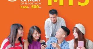 Gói MT5 Viettel, mua thêm 500MB Data tốc độ cao giá siêu rẻ 5.000đ