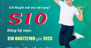 Cách đăng ký 500 tin nhắn nội mạng của Viettel - Gói S10 Viettel