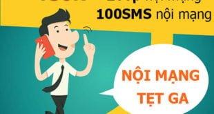 Đăng ký gói T50K Viettel miễn phí 200 phút nội mạng & 100SMS