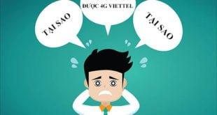 4G Viettel không vào mạng được thì cần phải làm gì?