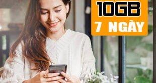 Gói BC100 Viettel ưu đãi 10GB Data tốc độ cao 1 tuần giá chỉ 100.000đ