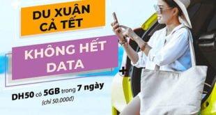 Gói DH50 Viettel ưu đãi 5GB Data tốc độ cao 1 tuần giá rẻ chỉ 50.000đ