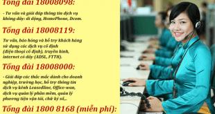 Số điện thoại tổng đài Viettel, Hotline CSKH