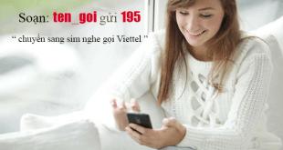 Chuyển từ sim Data Dcom sang sim nghe gọi Viettel bằng tin nhắn