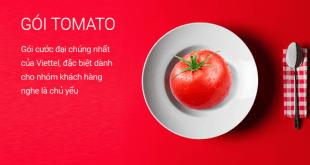 Gói cước Tomato Viettel được nhiều khách hàng sử dụng