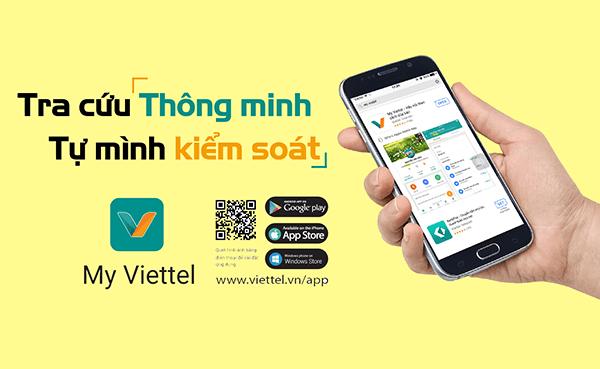 Kênh ứng dụng My Viettel, quản lý dịch vụ tiện lợi