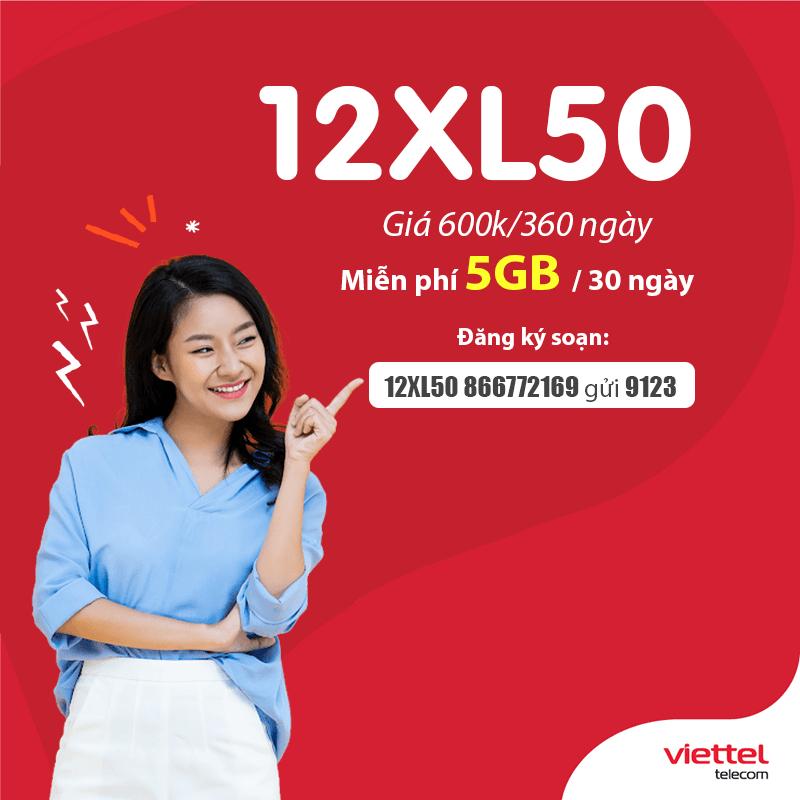 Cách đăng ký gói 12XL50 Viettel dễ dàng bằng tin nhắn