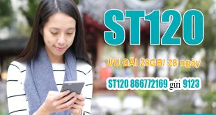 Đăng ký gói ST120 Viettel dễ dàng bằng tin nhắn