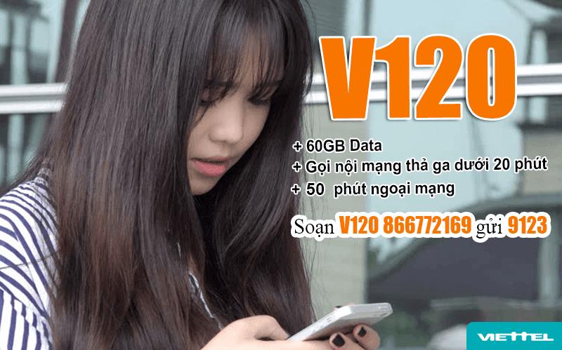 Cách đăng ký gói V120 Viettel dễ dàng bằng tin nhắn