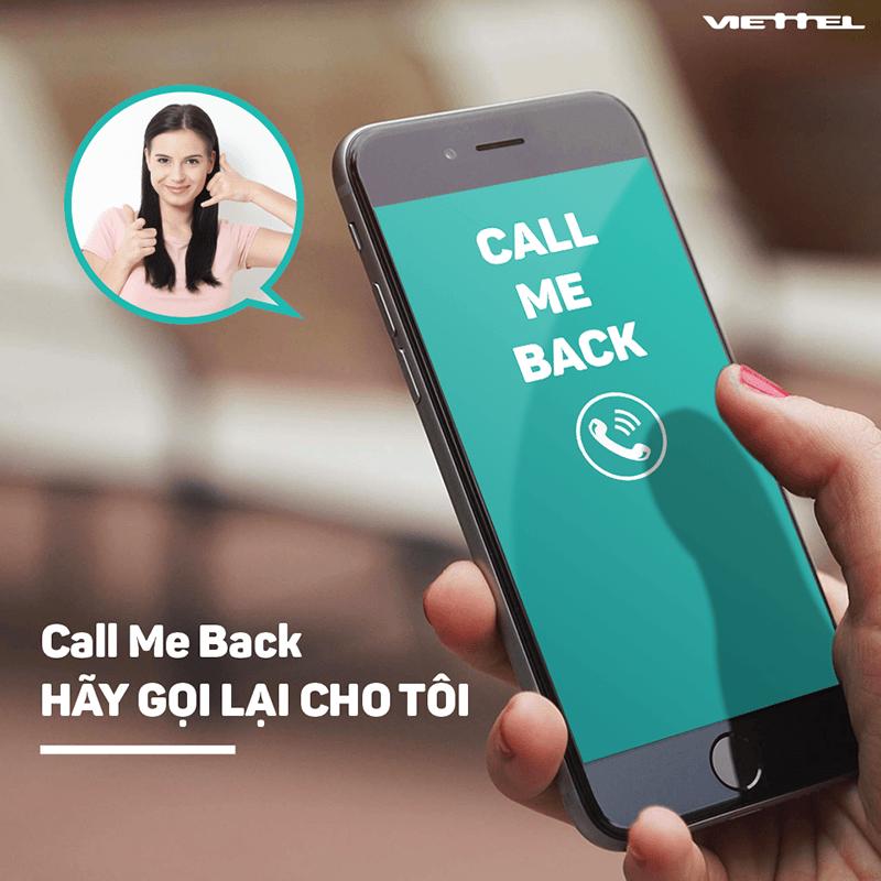 đăng ký yêu cầu gọi lại Viettel qua tổng đài 9119 miễn phí