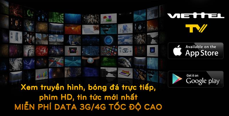 Viettel TV - Xem truyền hình HD, bóng đá trực tuyến thả ga