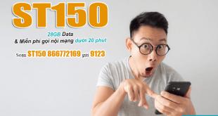 Cách đăng ký gói ST150 Viettel bằng tin nhắn
