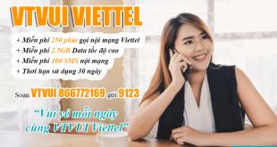 Đăng ký gói VTVUI Viettel thật dễ dàng bằng tin nhắn