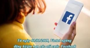 """Còn đăng ký gói cước Facebook Viettel - Thoải mái 'SỐNG ẢO"""" được không?"""