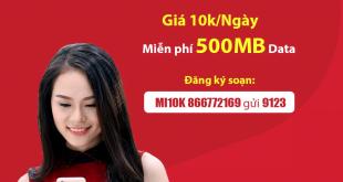 Cách Đăng Ký Gói MI10K Viettel Nhận 500MB Data, Online Suốt Cả Ngày