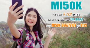 Đăng ký gói Mi50K Viettel dễ dàng bằng tin nhắn