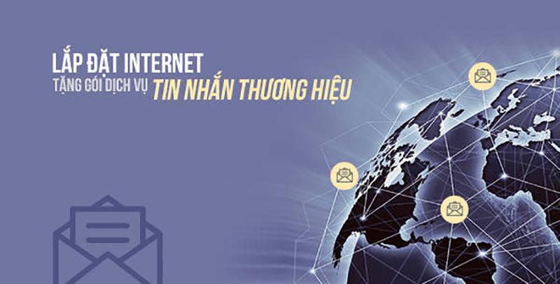 Khuyến mãi lắp đặt Internet Viettel tặng SMS Brandname