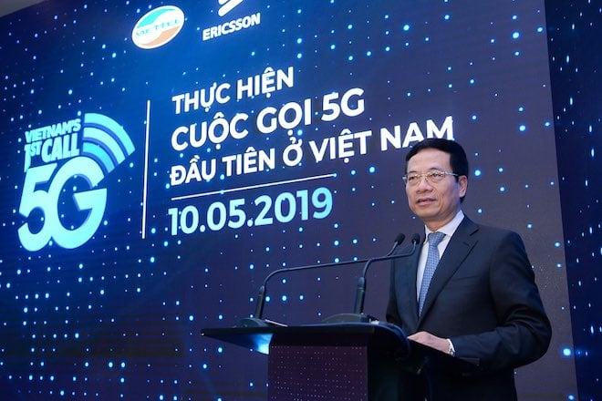 Viettel thực hiện cuộc gọi 5G đầu tiên vào ngày 10/5/2019