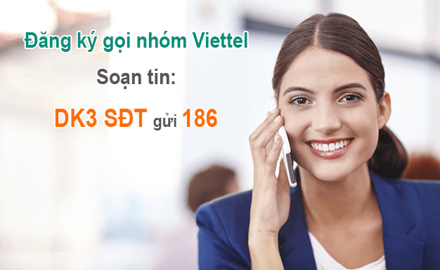 Đăng ký gọi nhóm Viettel dễ dàng bằng tin nhắn