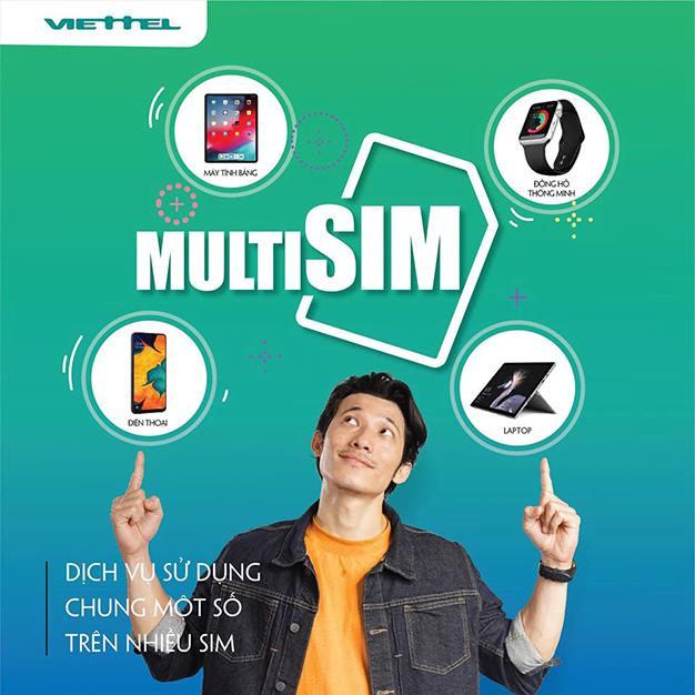 Viettel cung cấp dịch vụ MultiSIM cho khách hàng