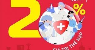 HOT: Viettel tặng 20% giá trị thẻ nạp ngày 10/09/2021